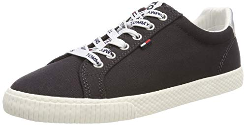 Hilfiger Denim Damen Tommy Jeans Casual Sneaker, Blau (Midnight 403), 38 EU