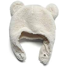 ZDD Otoño e Invierno bebé imitación Piel de Conejo Gorro recién Nacido  Orejeras Gruesa Tapa Caliente b9b9081cf75