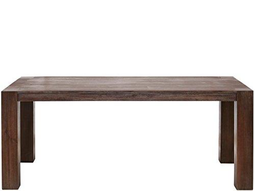 Domus Scandinavia Minnie Esstisch, Holz, Braun Gebürstet, 200 x 100 x 75 cm