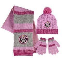 Disney Minnie - Set 3pz Inverno Cappello Sciarpa e Guanti