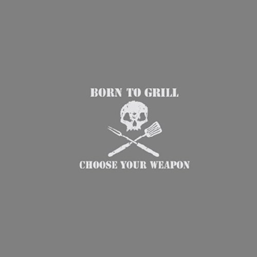 Born to Grill - Stofftasche / Beutel Gelb