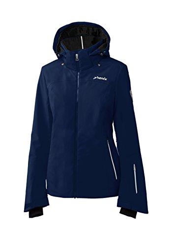 Phenix Damen Nederland Jacket Skijacke, Navy, 38