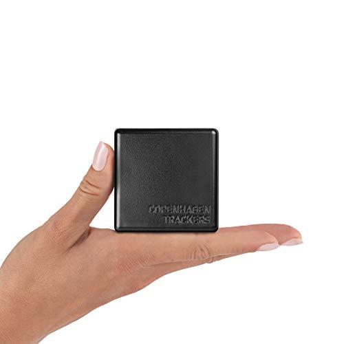 Cobblestone GPS Tracker - Made in Dänemark, € 0 / Monat, Keine SIM Kosten, 4-6 Jahre Laufzeit ohne Aufladung, Wasserdicht GPS, Kostenlos APP, GPS Tracker für Auto, Fahrrad usw.