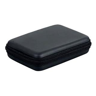 'Angelo Caro (TM) Tough Case with Zip for Portable Hard Drive (2.5) black - black