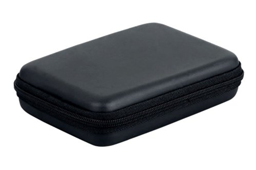 Angelo Caro(TM)Funda rígida con cremallera para disco duro portátil (2,5')