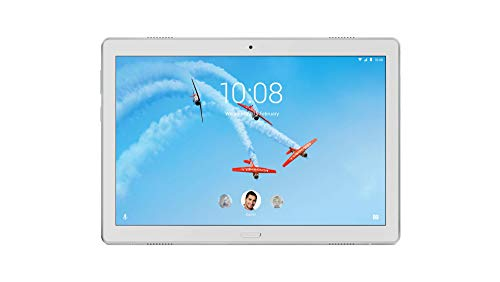 Lenovo Tab P10 25,5 cm (10,1 Zoll Full HD IPS Touch) Tablet-PC (Qualcomm Snapdragon 450 Octa-Core, 4GB RAM, 64GB eMCP, Wi-Fi, Android 8.1) weiß