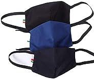 Cover Mascherina Mask-M filtranti 3 Strati in Cotone 100% con Tasca Filtro in TNT ricambiabile. Confez. 3 Pezz