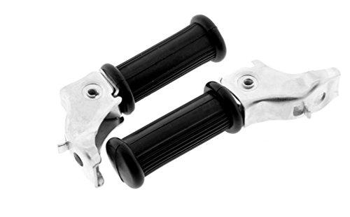 Preisvergleich Produktbild Soziusfußrasten Paar passend für MZ ES ETS TS alte Ausführung Beifahrerfussraste