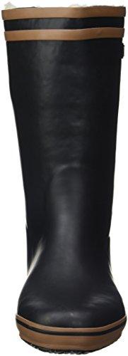Aigle Malouine Fur, Bottes de Neige Femme Noir (Noir/Camel)