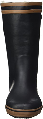 Aigle Malouine Stivali da Neve da Donna Nero (Noir/camel)