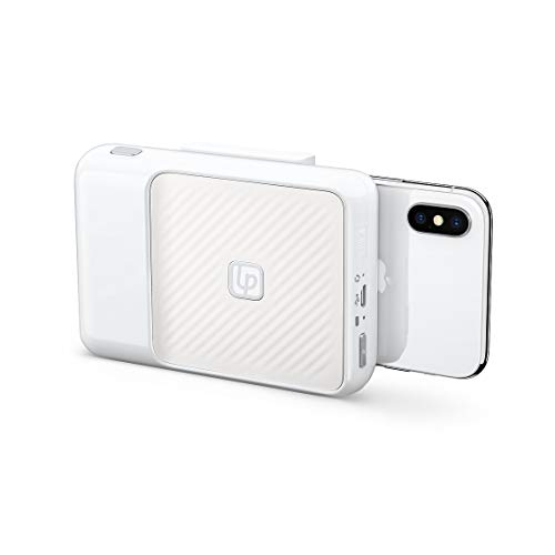 Impresora cámara Lifeprint Instant 2x3 iPhone Blanco