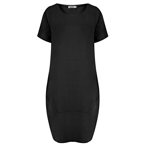 Masai Clothing Damen Kleid schwarz schwarz Schwarz