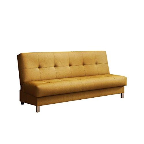 Mirjan24  Schlafsofa Enduro XI mit Bettkasten, 3 Sitzer Sofa, Couch mit Schlaffunktion und Bettfunktion, Bettsofa Polstersofa, Lounge Sofa Wohnlandschaft
