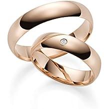 84463abc6233 333 Oro Rojo alianzas de oro par de precio – Rubin Joyero de Incluye ...