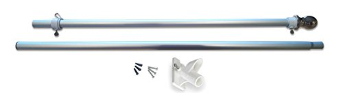 Valley Forge Flagge Pole-Kit Aluminium