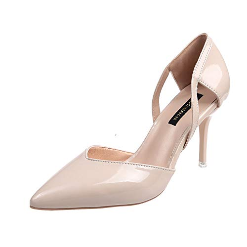 HOESCZS Tacones Altos Single Shoes Female Fine with Small Fresh High Heels  Summer New Wild Shallow ac34c41e534d