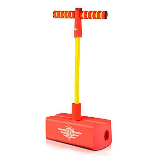 Pogo Jumper für Kinder Erwachsene, Top-Spielzeug für 3-12 jährige Jungen Mädchen Spaß Pogo Stick Jumper Outdoor Spiele Spielzeug für Kinder im Alter von 3-12 Jugendliche Erwachsene TTFPJ02 (Spielzeug Für Jungen Im Alter Von 11)
