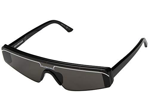 Balenciaga Sonnenbrillen BB0003S Black/Grey Unisex