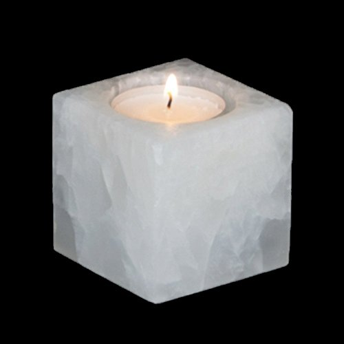 Porte-bougie Pachtic Blanc