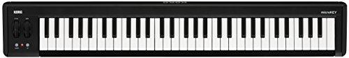 KORG MICROKEY2-61 61 Key USB MIDI Controller, schwarz