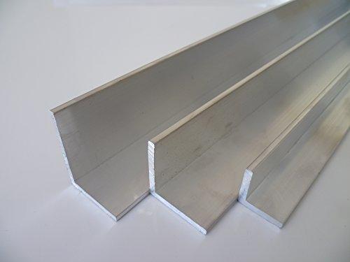 B&T Metall Aluminium Winkel 40 x 20 x 2 mm aus AlMgSi0,5 F22 schweissbar eloxierfähig Länge ca. 1...
