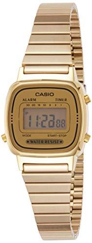 Casio Damen Digital Armbanduhr LA670WGA9D