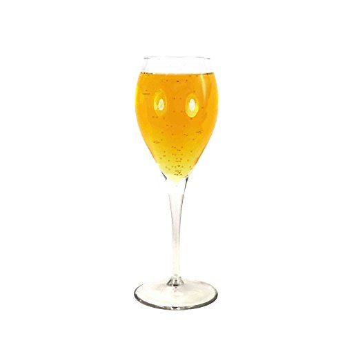 Tuff Luv Monte Carlo Weisswein Wießweinglas, Bleifreies glas, transparent, 250ml