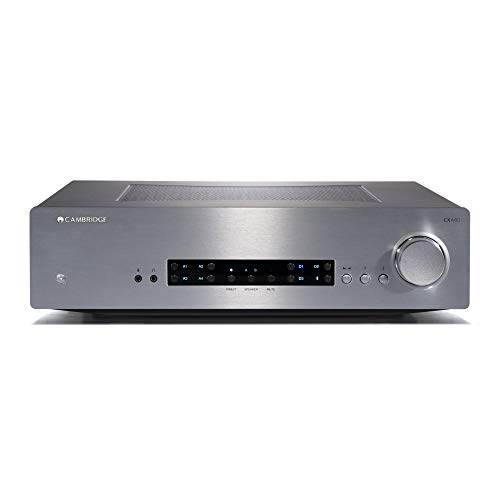31DlJaR3OzL. SS500  - Cambridge Audio CXA80 Integrated Amplifier - 80 Watts Per Channel, Built-In DAC, Digital & Analogue Inputs, Balanced Inputs, A+B Speaker Outputs, Toroidal Transformer (Silver)