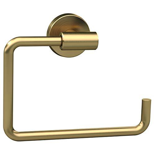 Amerock Bronze Handtuchhalter (Amerock BH26541BBZ Arrondi Towel Ring, Brushed Bronze by Amerock Corp (English Manual))
