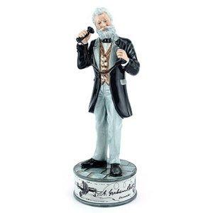 Royal Doulton Prestige Figur Alexander Graham Bell hn5052 verpackt Royal Doulton Bell