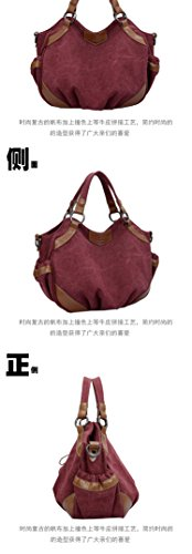 Pairs D, Borsa a zainetto donna rosso Red Blue