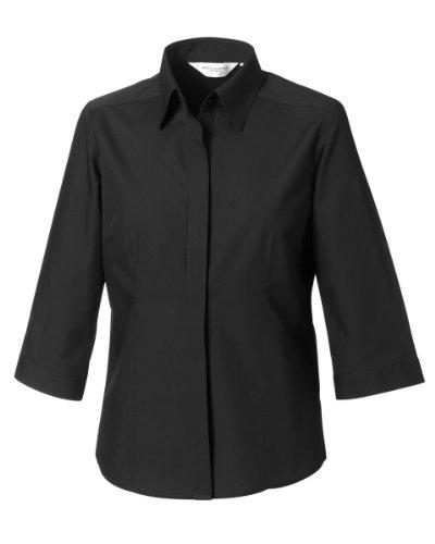 Russell Collection - Sweat à capuche -  Femme moyen Noir