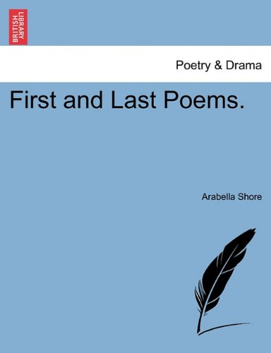 First and Last Poems.