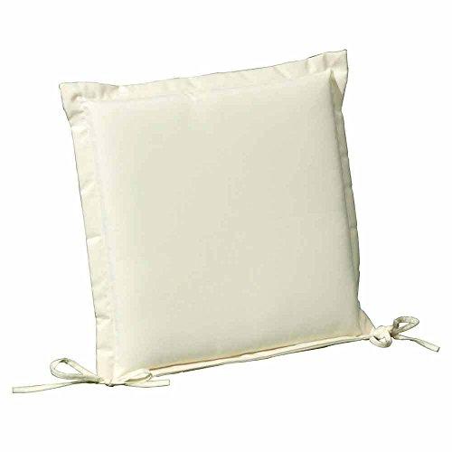 8097005 Papillon-Coussin de siège amovible 50 x 50 x 5 cm beige