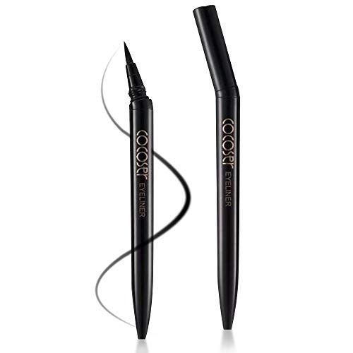 Onlyoily Eyeliner waterproof, eyeliner liquido nero, eyeliner liquido impermeabile, antisudicio, a lunga durata