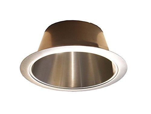 15,2cm Satin Nickel offen Reflektor Besatz für PAR30/R30Line Spannung Einbauleuchte light-fit Halo/Juno -