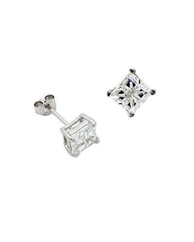 ijewelry2-zirconia-cubica-taglio-invisibile-set-orecchini-a-perno-in-argento-sterling-unisex-04ct-4-