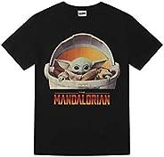Star Wars Boys Disney The Mandalorian El Niño Yoda Flotante Pod Camiseta Camiseta