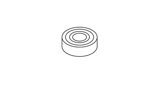 Trend WPT5018 Bottom bearing 35X17X10 6003 T5