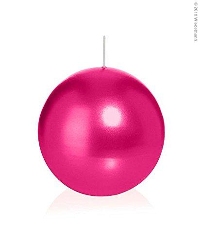 Wiedemann - Velas esféricas (16 Unidades, 60 mm), Color Rosa