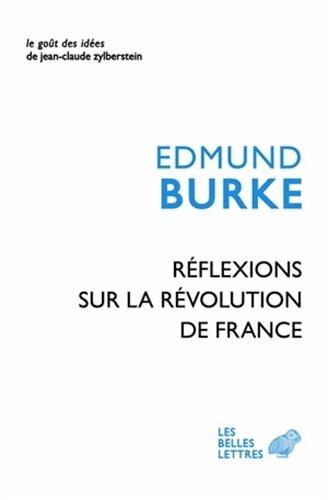 Rflexions sur la Rvolution en France