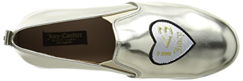 Juicy Couture Damen Evangeline Slipper Gold (Platinum Gold)
