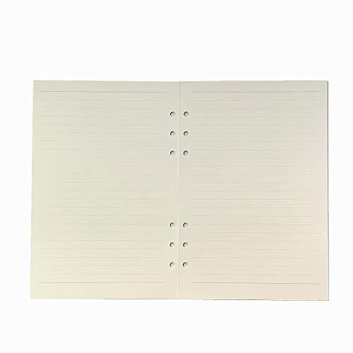 harphia A5A6A7Loose Leaf Notebook Refill Spirale Binder inneren Seite in Papier Dairy Wochenplaner monatlichen Plan zu tun Line Dot Grid A5 linie (Papier Binder Spirale)
