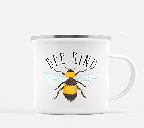 Bienen-freundliche Kaffeetasse Punny-Kaffeetasse Bienen-Kaffeetasse Seien Sie freundliche Kaffeetasse Bienen-freundliche Tasse Speichern Sie die Bienen Hummel-Bienen-Geschenke Bienen-Lagerfeuer-Becher