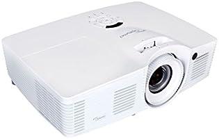 Optoma dh401Projecteur à technologie DLP (1080p Vidéoprojecteur, 1920x 1080pixels, 4000ANSI lumens, contraste 15000: 1, Full HD, HDMI, 1,6x Zoom) Blanc/Noir