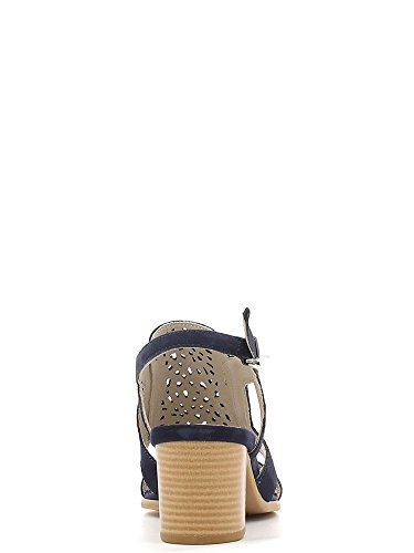 KEYS 5414 Sandalo tacco Donna Blu