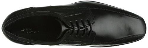 Sioux  Balbino, Chaussures de ville à lacets pour homme Noir (Schwarz)