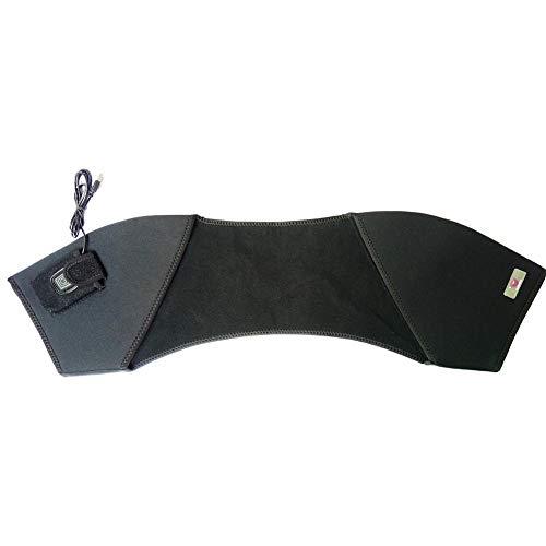 Elektrische Heizkissen für Hals und Schulter, Carbon Heizelemente mit weichem Plüsch Velour Oberfläche für Arbeit und Heimgebrauch