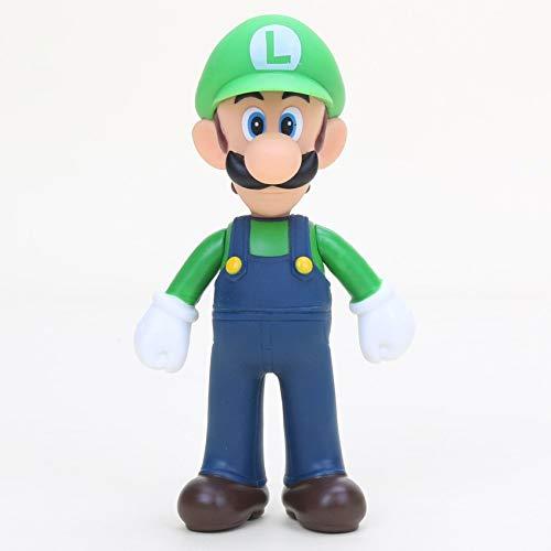 Unbekannt Super Mario - Action Figur / Puppe Figur / Figure Luigi 12 cm / 5