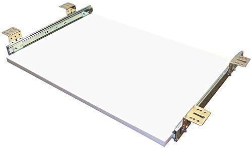EisenRon Tastaturauszug weiss 60x30 cm Nutzhöhe 47mm Schublade Auszug für Tastatur -